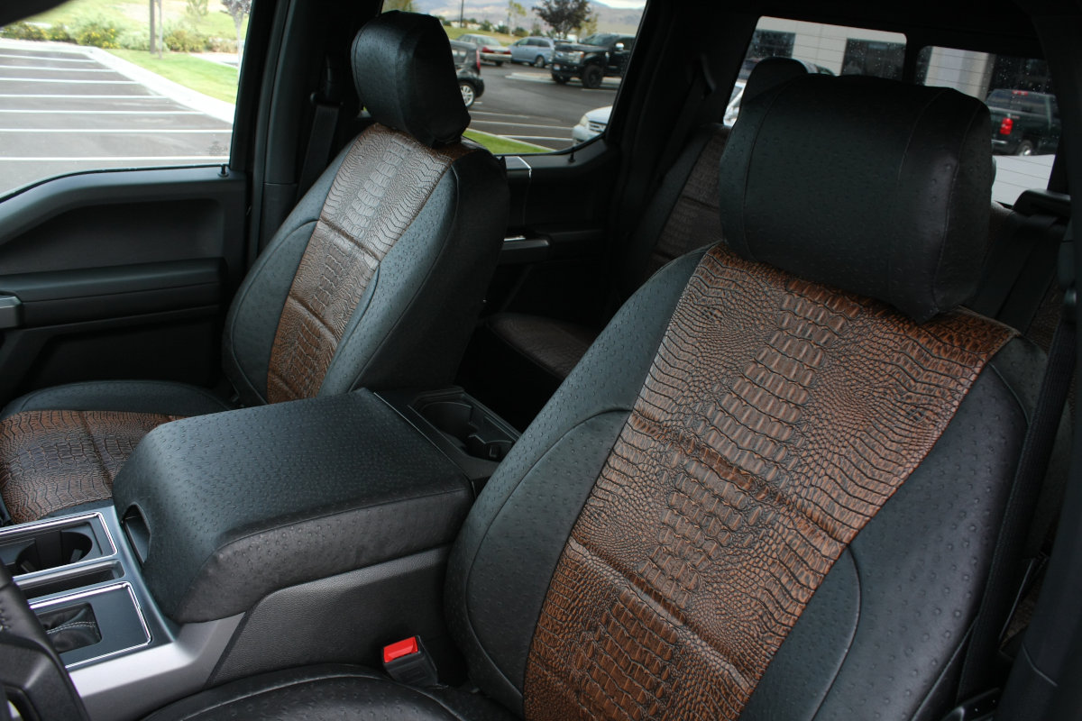 2019 Ford F-150 custom seat covers