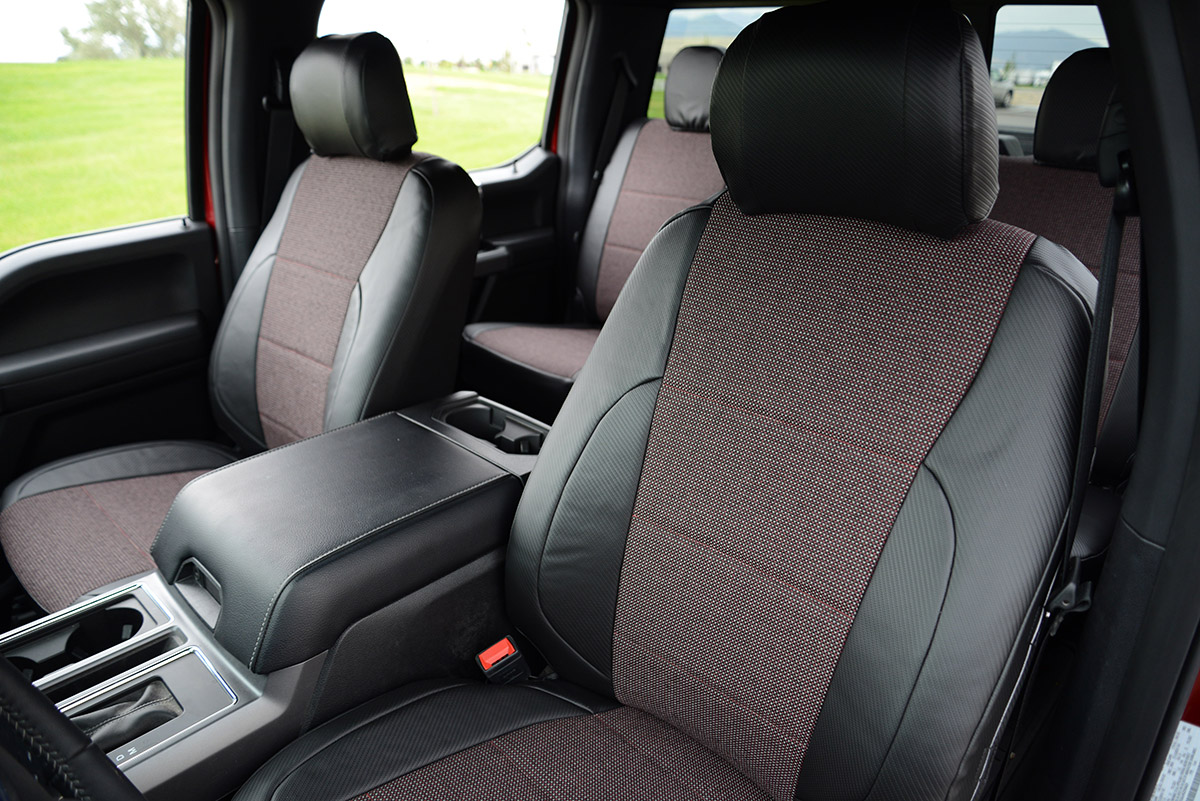 2018 Ford F-150 custom seat covers