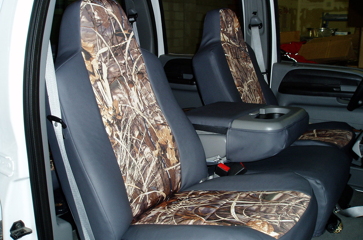 2005 Ford F-250 custom seat covers