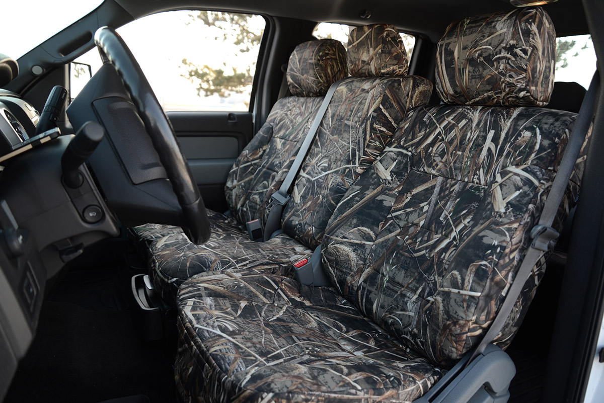 2014 Ford F-150 custom seat covers