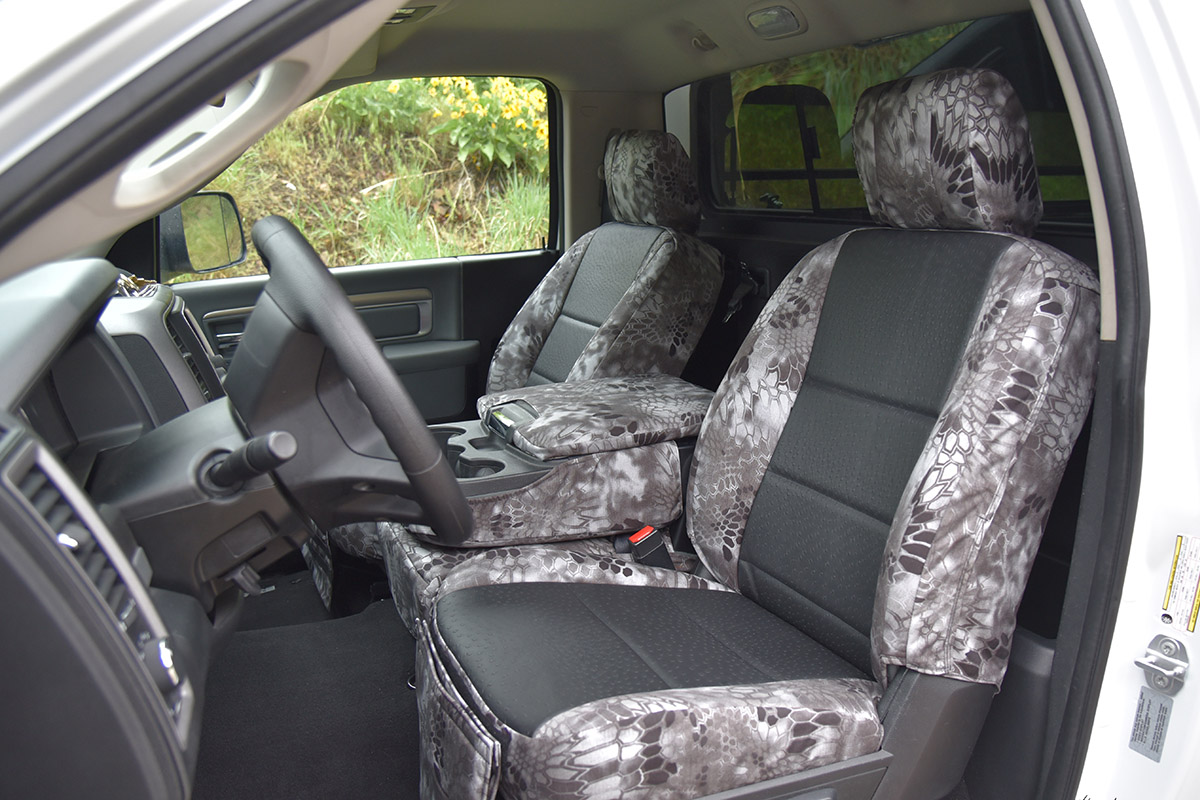 2016 Ram 1500 custom seat covers