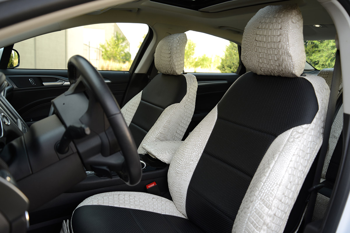 2016 Ford Fusion custom seat covers