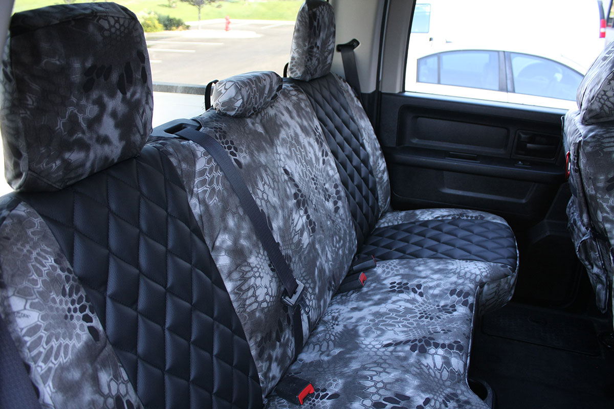 2014 Dodge Ram custom seat covers