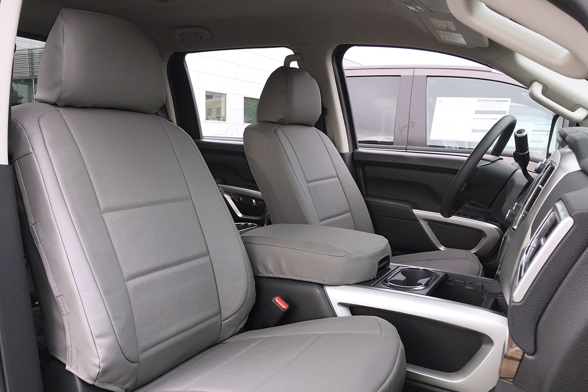 2016 Nissan Titan custom seat covers