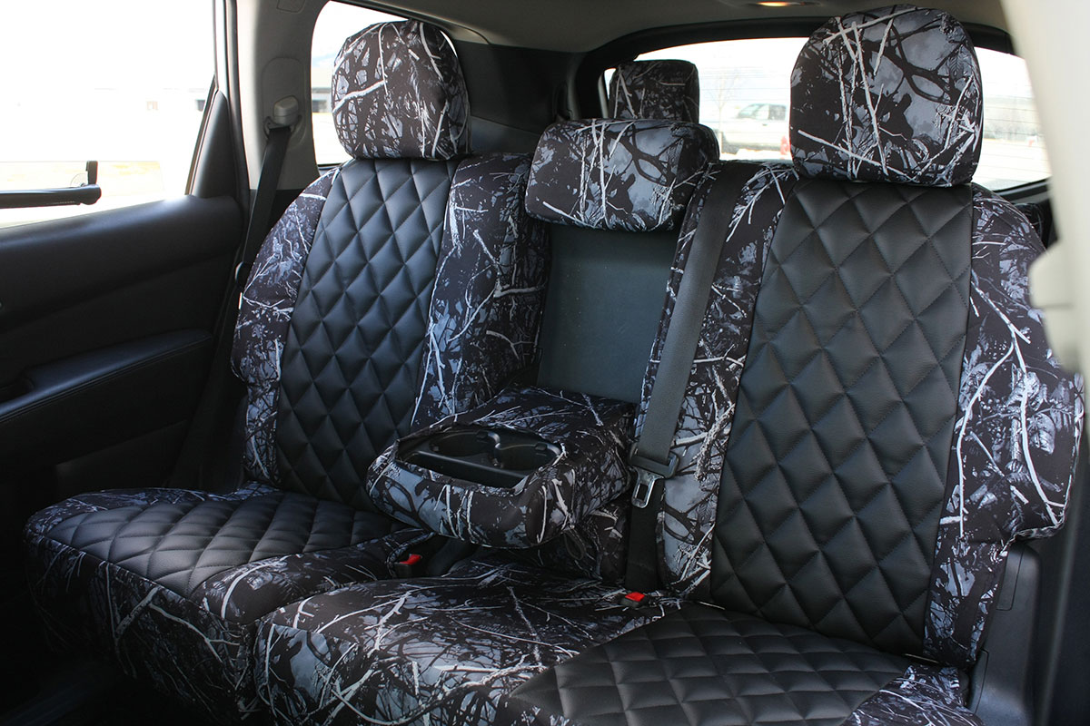 2018 Nissan Pathfinder custom seat covers