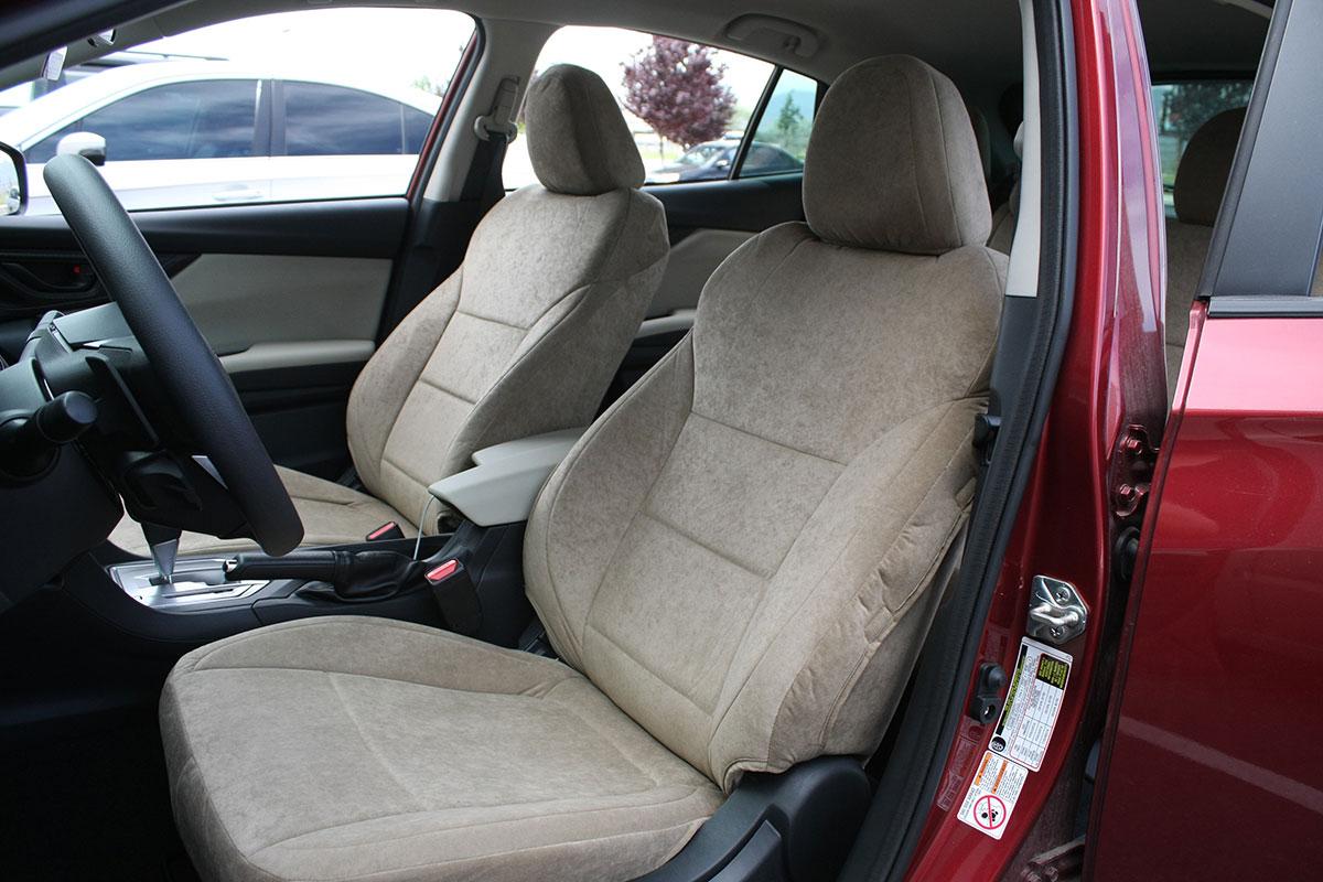 2018 Subaru Impreza custom seat covers