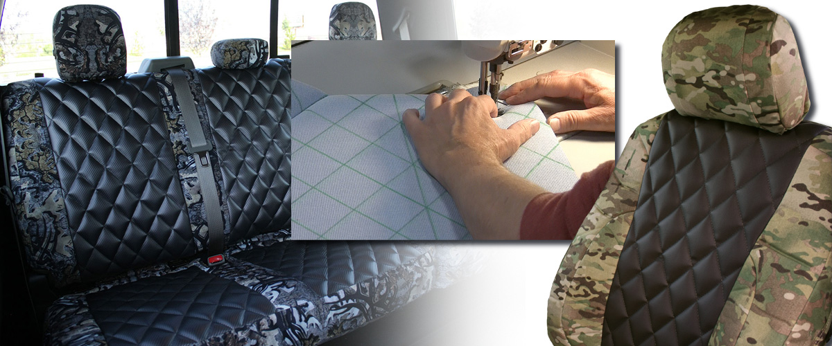 Diamond Quilting for custom seat covers