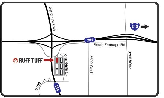 Ruff Tuff Location Map
