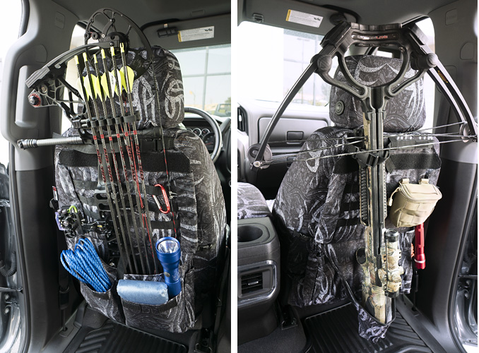 Special Ops Package on custom seat covers